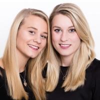Studioportrait Schwestern